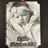 Personalized Photo Christmas Ornament - Enchanted Memories, Custom Engraving & Unique Gifts