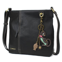 CHALA Laser Cut Crossbody with Cat Keychain - Enchanted Memories, Custom Engraving & Unique Gifts