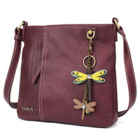CHALA Laser Cut Crossbody with Dragonfly Keychain - Enchanted Memories, Custom Engraving & Unique Gifts