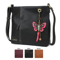 CHALA Laser Cut Crossbody with Butterfly Keychain - Enchanted Memories, Custom Engraving & Unique Gifts