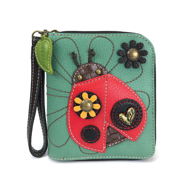 CHALA Ladybug Wallet - Enchanted Memories, Custom Engraving & Unique Gifts