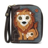 CHALA Lion Wallet - Enchanted Memories, Custom Engraving & Unique Gifts