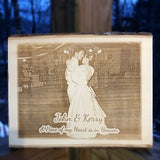 Our Memorial Photo Plaque is the perfect way to commemorate a loved one | Enchanted Memories, Custom Engraving
