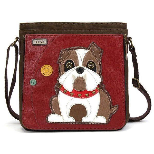 CHALA Messenger Bag Bulldog