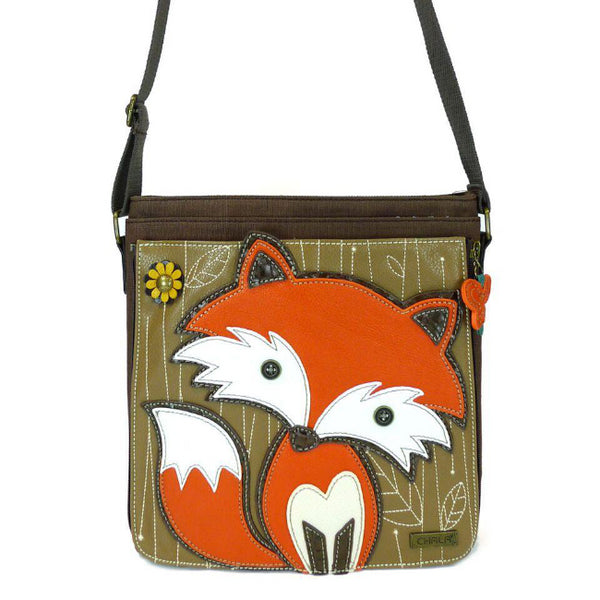 CHALA Messenger Bag Fox - Enchanted Memories, Custom Engraving & Unique Gifts