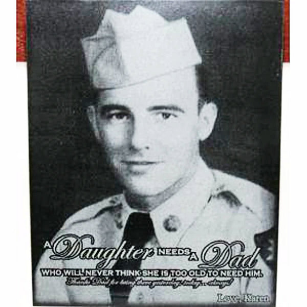 Mable Military Photo Plaque