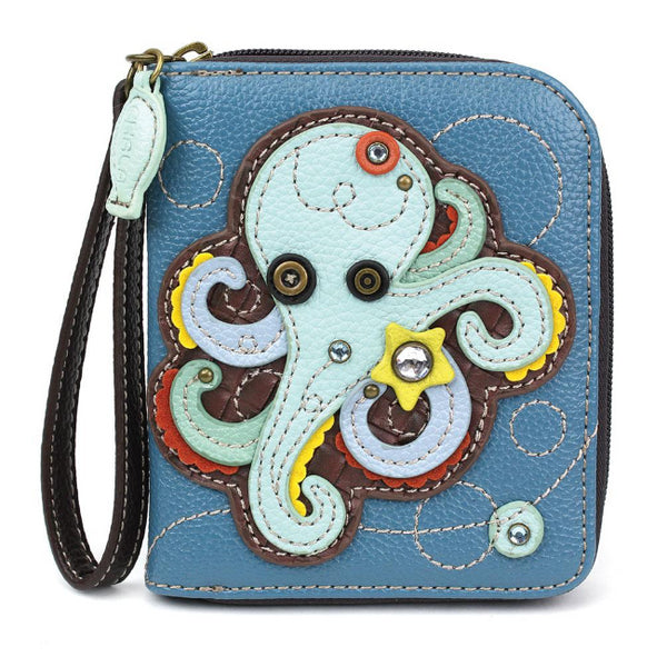 CHALA Octopus Wallet - Enchanted Memories, Custom Engraving & Unique Gifts