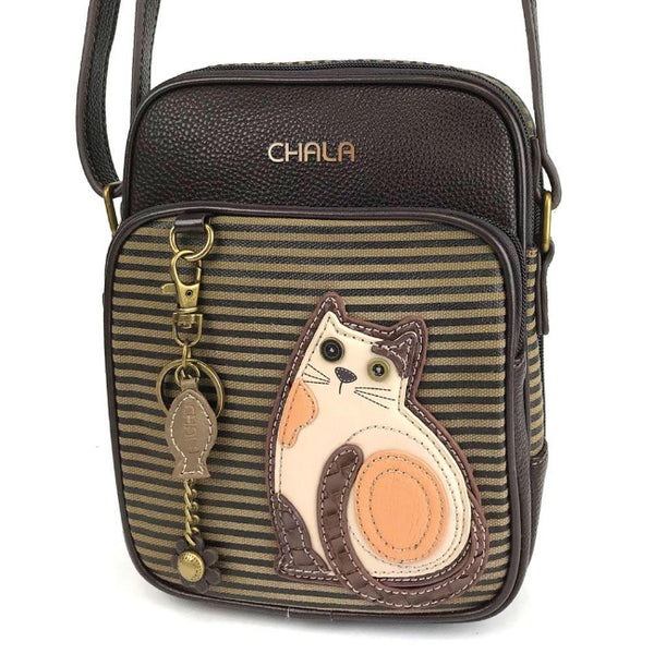 Chala Organizer Crossbody Cat - Enchanted Memories, Custom Engraving & Unique Gifts