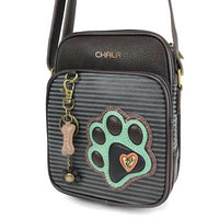 Chala Organizer Crossbody Paw Print - Enchanted Memories, Custom Engraving & Unique Gifts