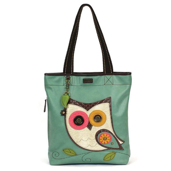CHALA Everyday Zip Tote - Owl - Enchanted Memories, Custom Engraving & Unique Gifts