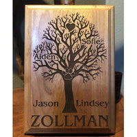 Personalized Family Tree Pet Plaque Perfect Gift for all of your Animal Loving Family Members Pets are Family too | Enchanted Memories, Custom Engraving & Unique Gifts