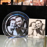 Personalized Photo Engraved Photo Gift for Couples | Enchanted Memories, Custom Engraving & Unique Gifts