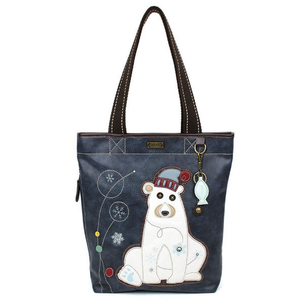 CHALA Everyday Zip Tote Polar Bear - Enchanted Memories, Custom Engraving & Unique Gifts