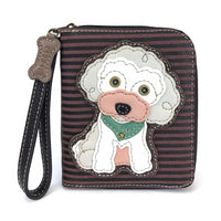 CHALA Poodle Wallet - Enchanted Memories, Custom Engraving & Unique Gifts
