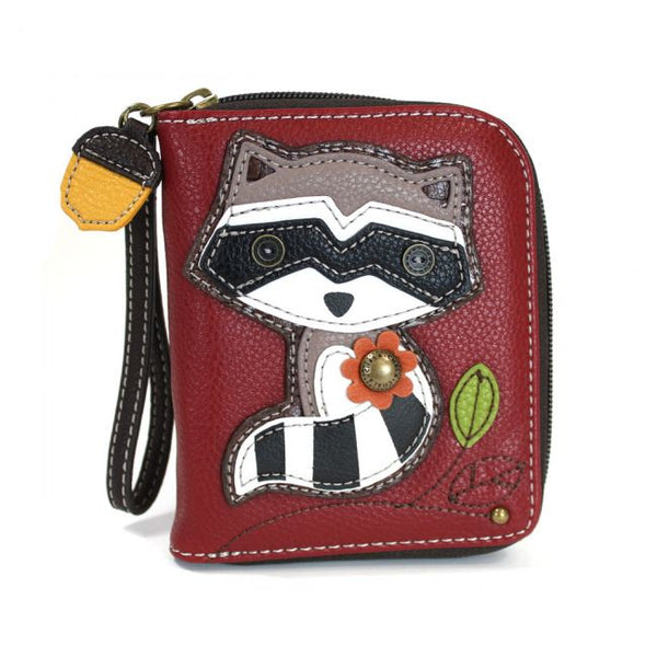 CHALA Raccoon Wallet - Enchanted Memories, Custom Engraving & Unique Gifts