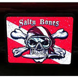 Salty Bones Custom Scuba Diving Trailer Hitch Cover to Personalized Your Ride with your favorite Scuba Diving Image