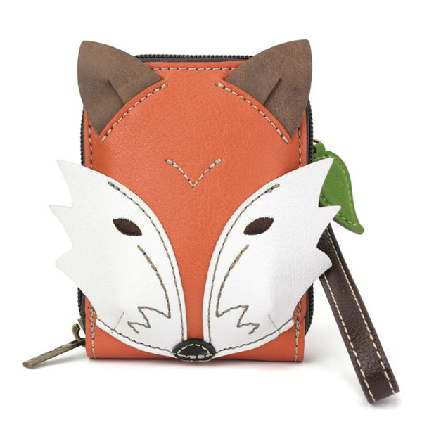 Chala Cute-C Credit Card Holder Wallet Wristlet Fox - Enchanted Memories, Custom Engraving & Unique Gifts