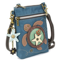 CHALA Venture Crossbody Cell Phone Case - Sea Turtle - Enchanted Memories, Custom Engraving & Unique Gifts
