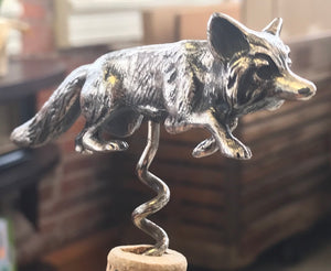 Fox Corkscrew Bottle Opener