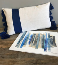 Load image into Gallery viewer, Blue Ribbon Pillow