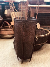 Load image into Gallery viewer, Hand Woven Reed Market Storage Basket