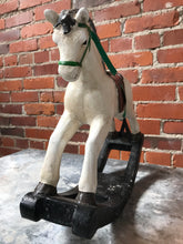Load image into Gallery viewer, Vintage Mini Rocking Horse