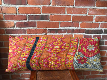 Load image into Gallery viewer, Kantha Inspired Lumbar Pillow