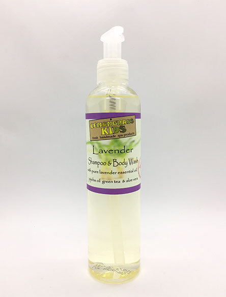 Lavender Kids Shampoo & Body Wash