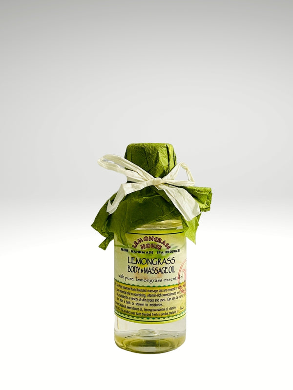 Thai Lemongrass Body & Massage Oil