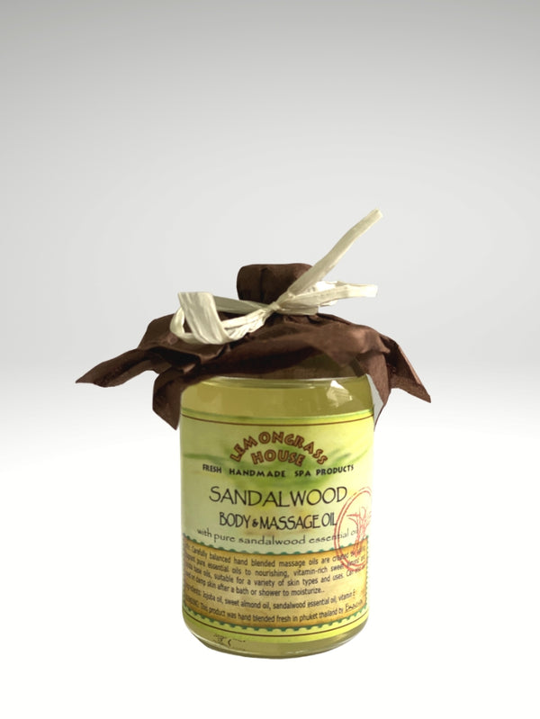 Sandalwood Body & Massage Oil