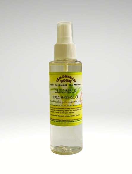 Cucumber Face Massage Oil