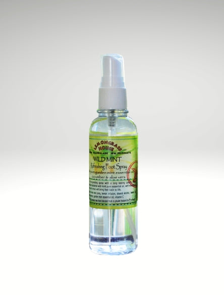 Wild Mint Foot Spray