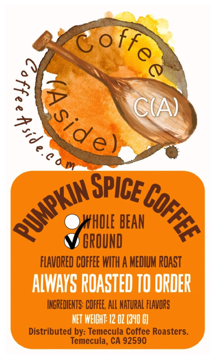 Pumpkin Spice! 12oz [FREE SHIPPING]