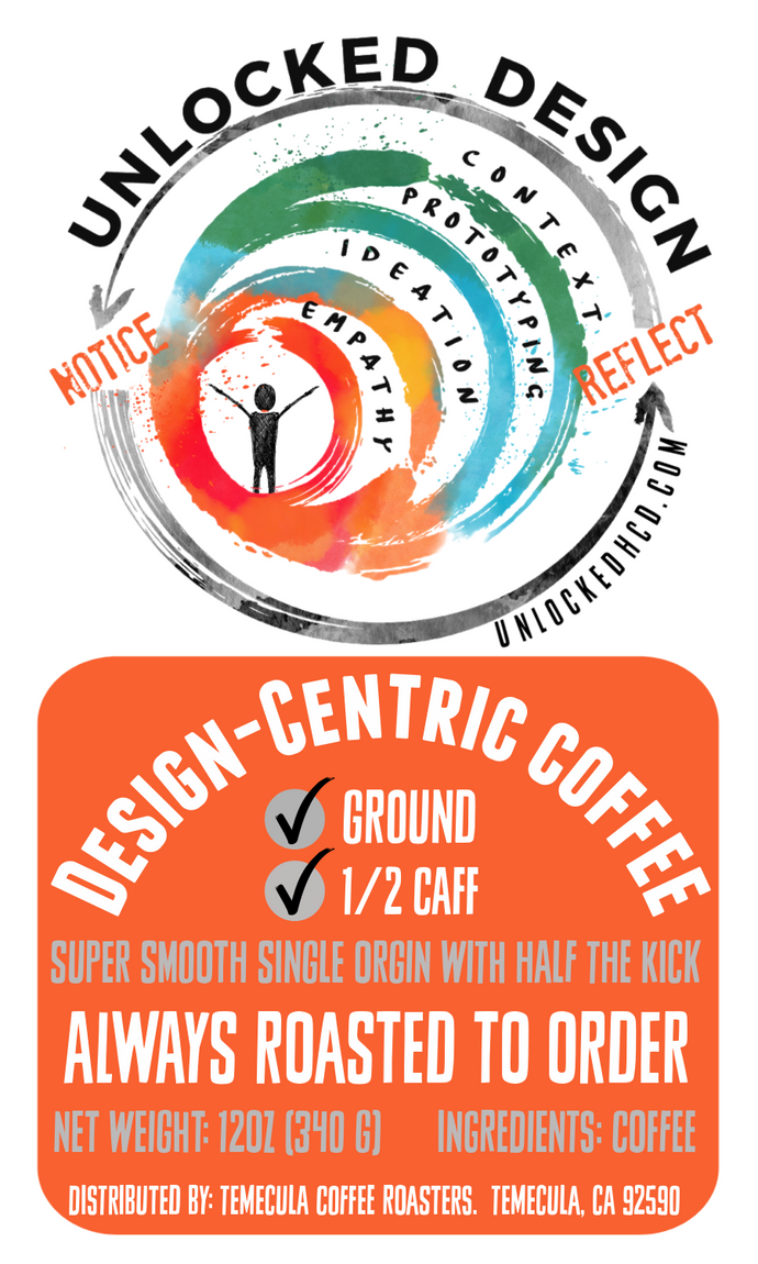 Design-Centric Coffee; 12oz [FREE SHIPPING]