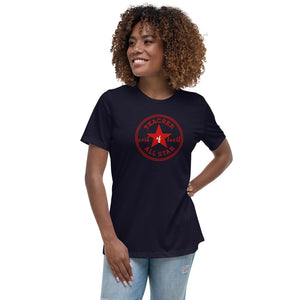 """Teacher All Star"" Women's Relaxed T-Shirt"