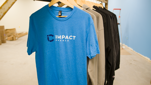 Impact Branded Crew Neck Short Sleeve