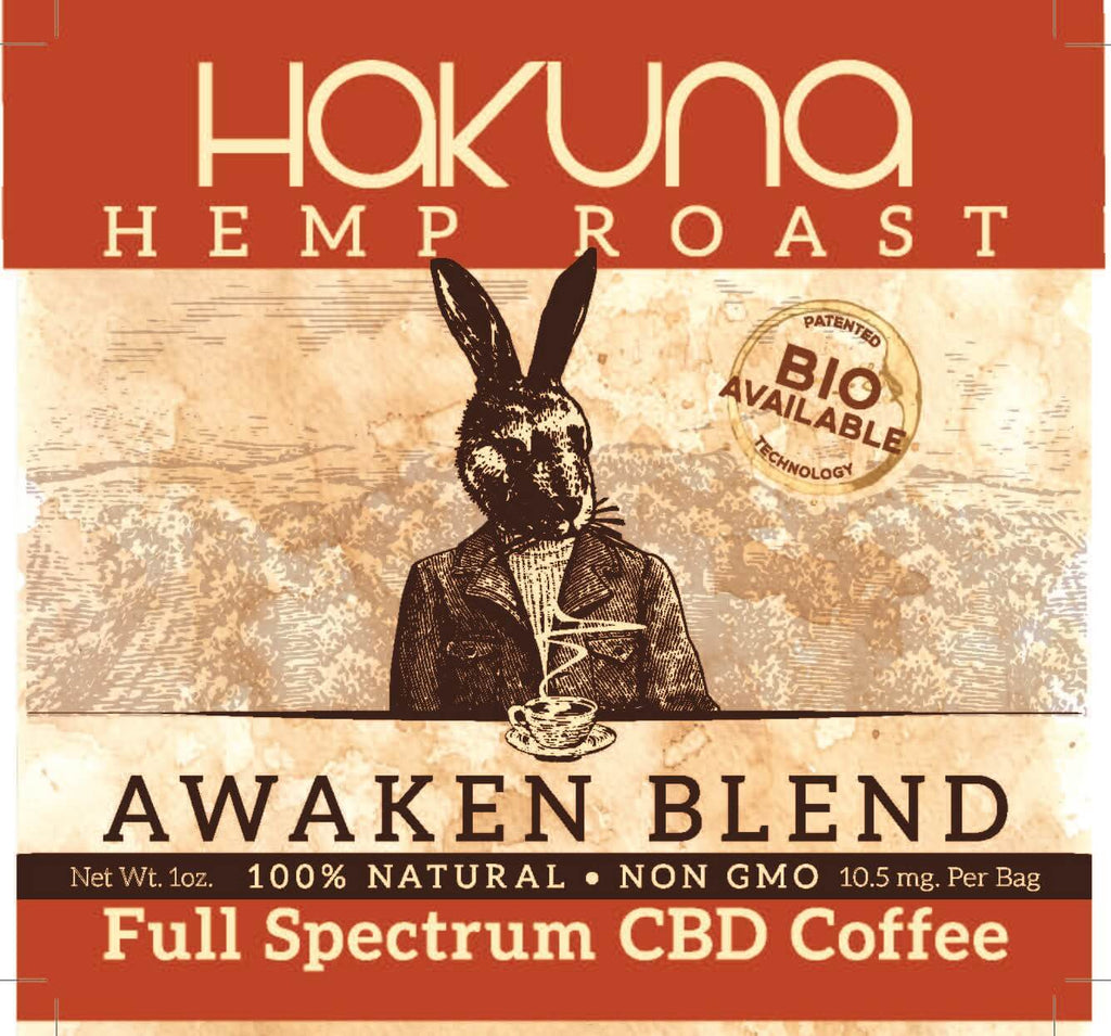 """Awaken"" Hemp Roast, 1 oz. - The Hemp Dispense"