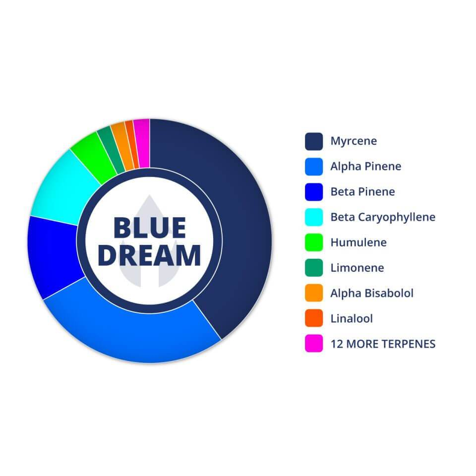 """Blue Dream"" CBD Drink Drops - 160mg - The Hemp Dispense"