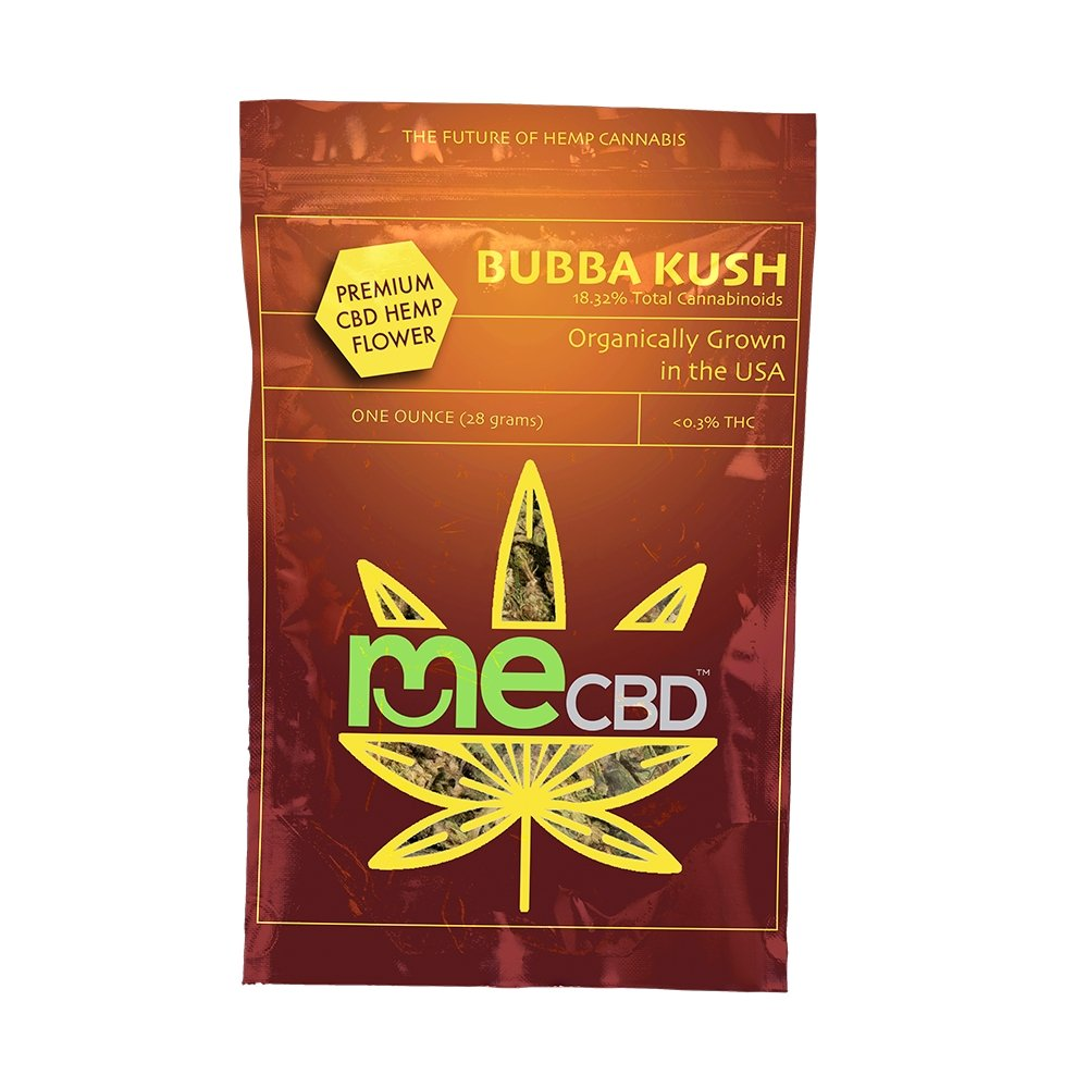 Bubba Kush CBD Hemp Flower - The Hemp Dispense