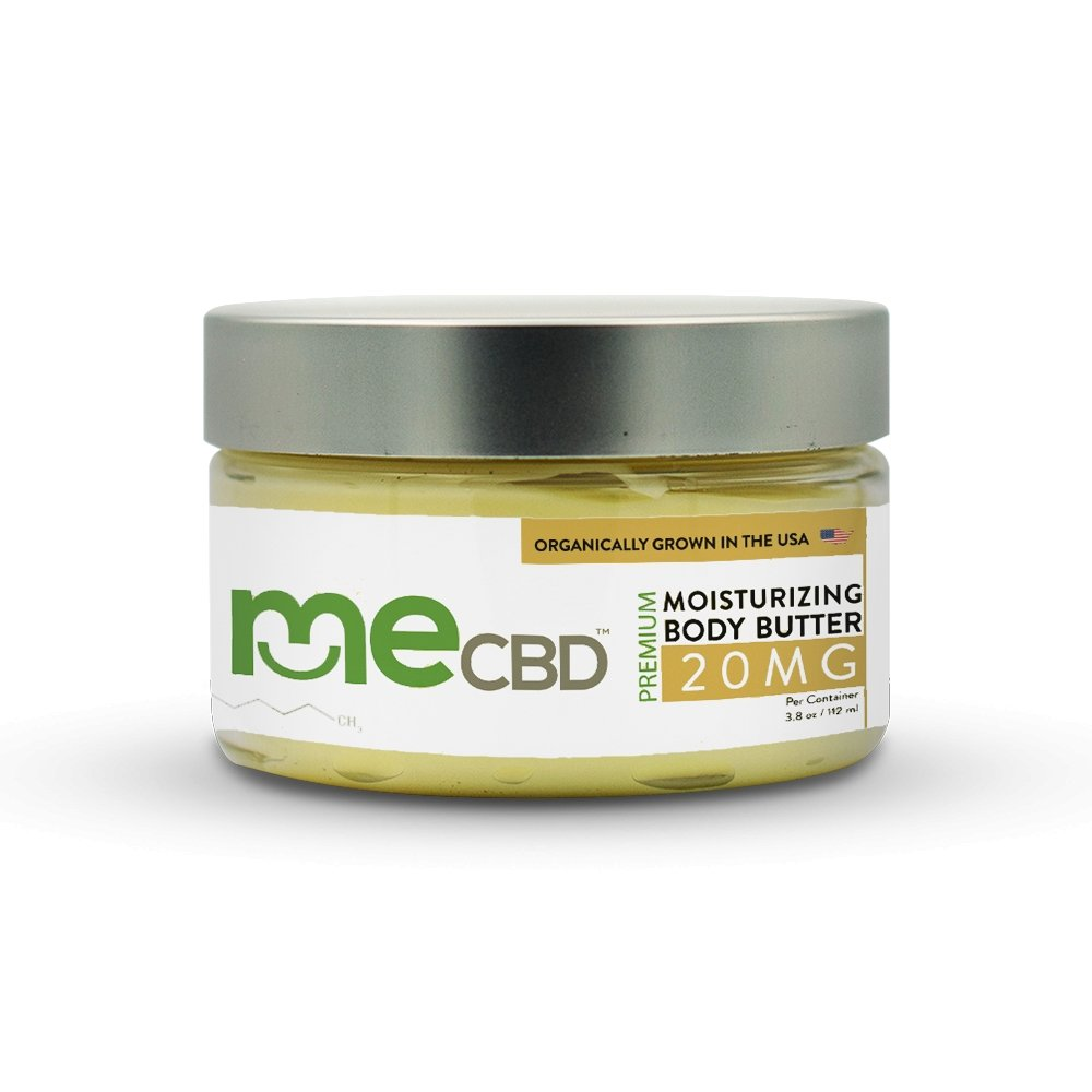 CBD Body Butter - 3.8floz / 112ml - The Hemp Dispense