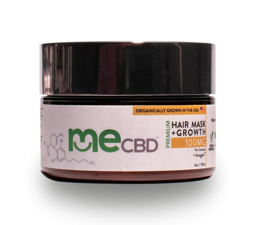 CBD Extract Hair Mask + Anagain® - 4oz - The Hemp Dispense