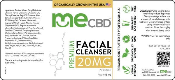 CBD Facial Cleanser - 4oz - The Hemp Dispense