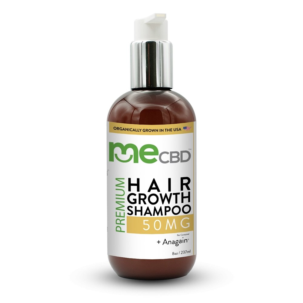 CBD Hair Growth Shampoo +AnaGain® - 8oz - The Hemp Dispense