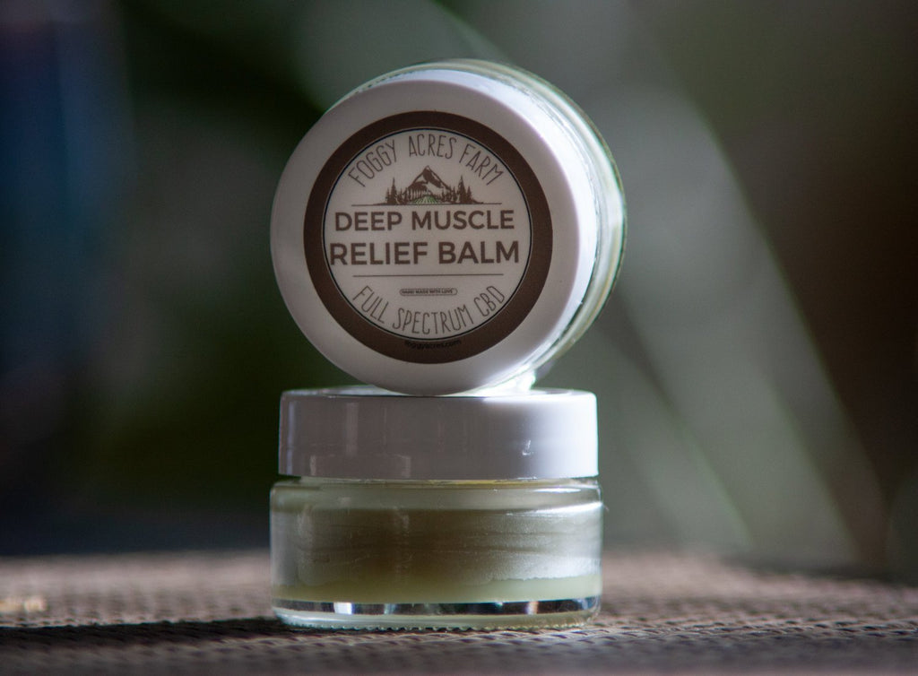 Deep Muscle Rub Balm - 1/2 oz - The Hemp Dispense