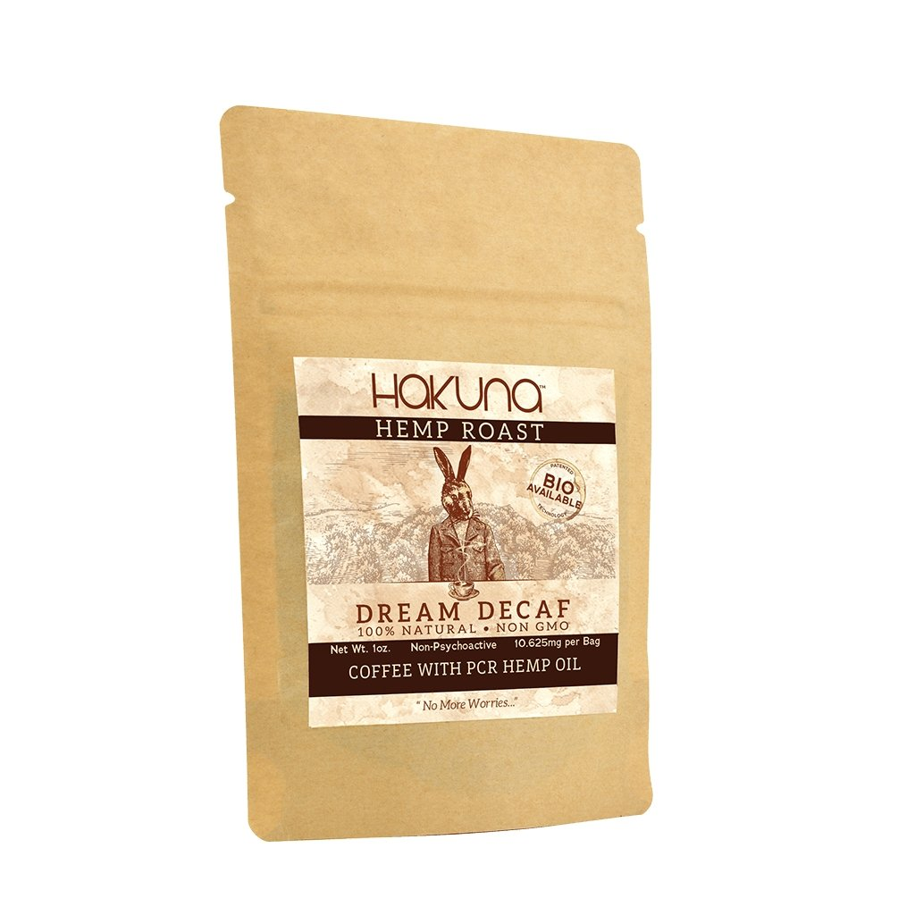 """Dream"" Decaf Hemp Roast, 1 oz. - The Hemp Dispense"