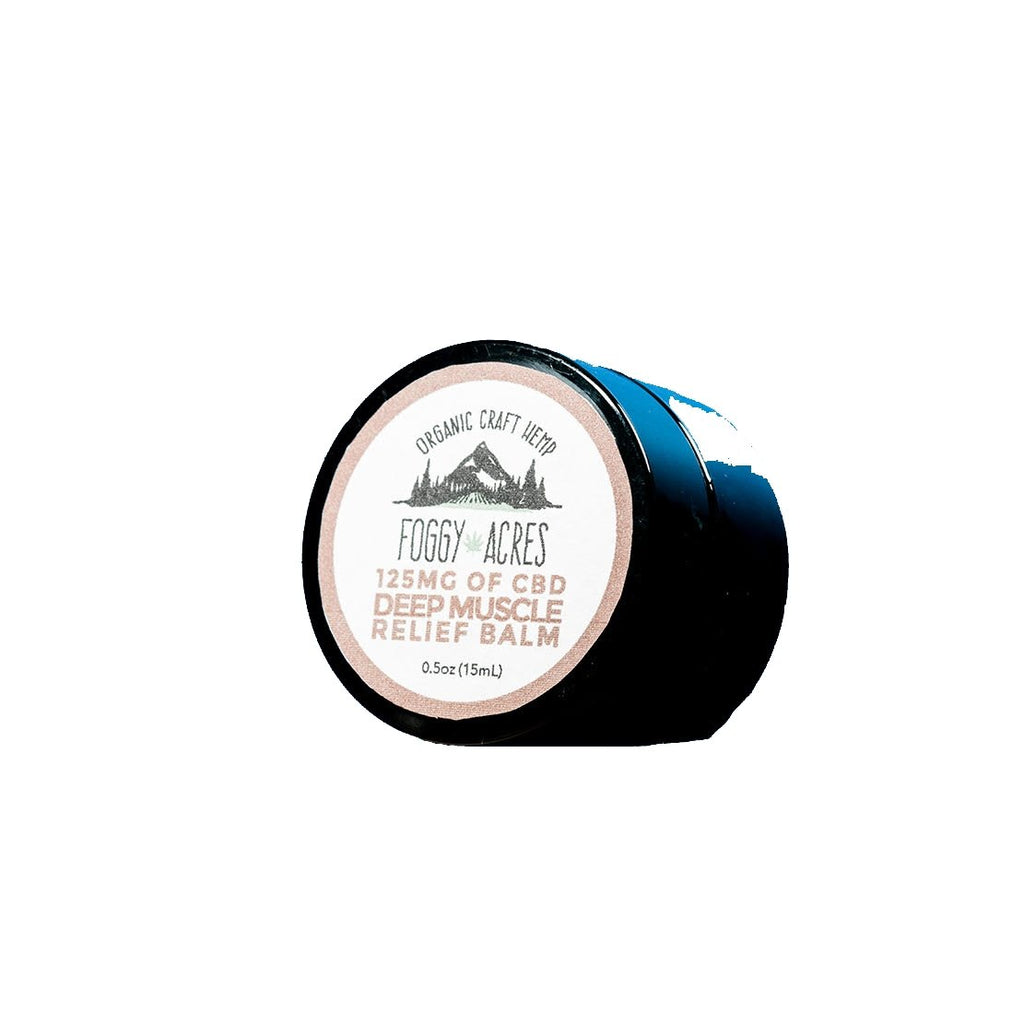 Foggy Acres - Deep Muscle Rub Balm: 125mg - 1/2 oz - The Hemp Dispense