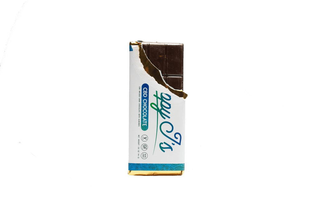 Happy J's CBD Mini Chocolate Bars - The Hemp Dispense