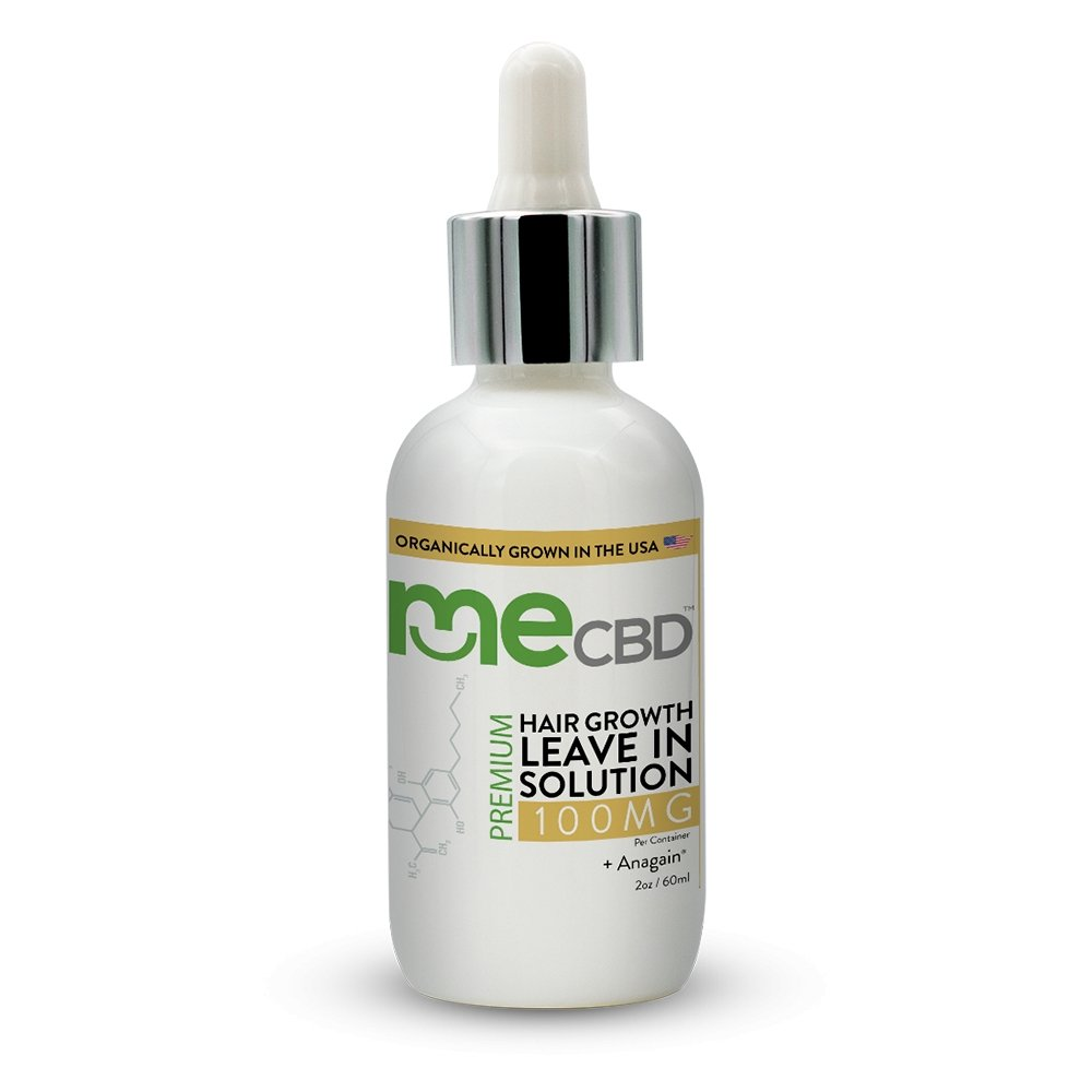 Leave In Hair Growth CBD Treatment +AnaGain® - 2oz - The Hemp Dispense