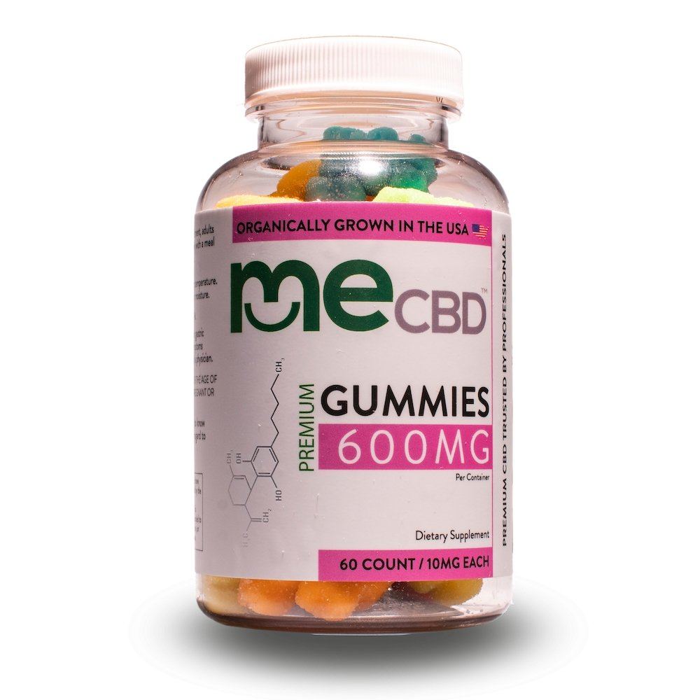 meCBD CBD Gummies: 300mg-600mg - Mixed Berry - The Hemp Dispense