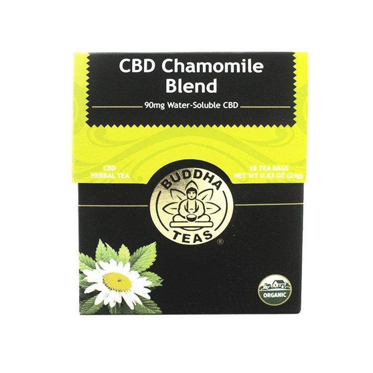 Organic CBD Chamomile Blend Tea - The Hemp Dispense